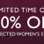 CLARKS 30% OFF SELECTED WOMEN'S STYLES