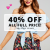DOTTI 40% off all full price