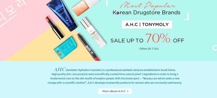 SASA MOST POPULAR KOREAN DRUGSTORE BRANDS UP TO 70% OFF « DigBargain
